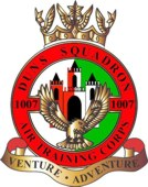 1007 (Duns) Air Training Corps (ATC)/Air Cadets Squadron badge. Click to go to the 1007 (Duns) Air Training Corps (ATC)/Air Cadets homepage