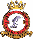 1068 (Nairn) Air Training Corps (ATC)/Air Cadets Squadron badge. Click to go to the 1068 (Nairn) Air Training Corps (ATC)/Air Cadets homepage