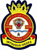1096 (Bishops Stortford) Air Training Corps (ATC)/Air Cadets Squadron badge. Click to go to the 1096 (Bishops Stortford) Air Training Corps (ATC)/Air Cadets homepage