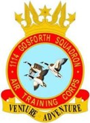 1114 (Gosforth) Air Training Corps (ATC)/Air Cadets Squadron badge. Click to go to the 1114 (Gosforth) Air Training Corps (ATC)/Air Cadets homepage