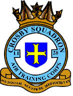 1128 (Crosby) Air Training Corps (ATC)/Air Cadets Squadron badge. Click to go to the 1128 (Crosby) Air Training Corps (ATC)/Air Cadets homepage