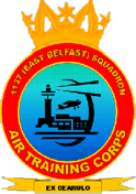 1137 (East Belfast) Air Training Corps (ATC)/Air Cadets Squadron badge. Click to go to the 1137 (East Belfast) Air Training Corps (ATC)/Air Cadets homepage