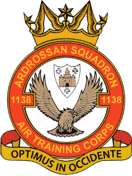 1138 (Ardrossan) Air Training Corps (ATC)/Air Cadets Squadron badge. Click to go to the 1138 (Ardrossan) Air Training Corps (ATC)/Air Cadets homepage