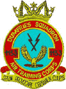 1153 (2nd Dumfriesshire) Air Training Corps (ATC)/Air Cadets Squadron badge. Click to go to the 1153 (2nd Dumfriesshire) Air Training Corps (ATC)/Air Cadets homepage