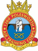 1200 (Polesworth) Air Training Corps (ATC)/Air Cadets Squadron badge. Click to go to the 1200 (Polesworth) Air Training Corps (ATC)/Air Cadets homepage