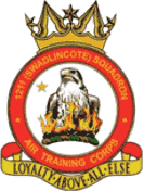 1211 (Swadlincote) Air Training Corps (ATC)/Air Cadets Squadron badge. Click to go to the 1211 (Swadlincote) Air Training Corps (ATC)/Air Cadets homepage