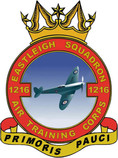 1216 (Eastleigh) Air Training Corps (ATC)/Air Cadets Squadron badge. Click to go to the 1216 (Eastleigh) Air Training Corps (ATC)/Air Cadets homepage