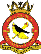 1225 (St Austell & District) Air Training Corps (ATC)/Air Cadets Squadron badge. Click to go to the 1225 (St Austell & District) Air Training Corps (ATC)/Air Cadets homepage