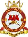 1248 (Prudhoe) Air Training Corps (ATC)/Air Cadets Squadron badge. Click to go to the 1248 (Prudhoe) Air Training Corps (ATC)/Air Cadets homepage