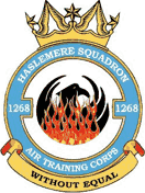 1268 (Haslemere) Air Training Corps (ATC)/Air Cadets Squadron badge. Click to go to the 1268 (Haslemere) Air Training Corps (ATC)/Air Cadets homepage