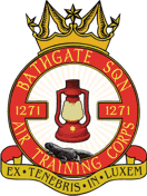 1271 (Bathgate) Air Training Corps (ATC)/Air Cadets Squadron badge. Click to go to the 1271 (Bathgate) Air Training Corps (ATC)/Air Cadets homepage