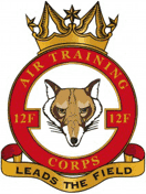 12F (Walthamstow & Leyton) Air Training Corps (ATC)/Air Cadets Squadron badge. Click to go to the 12F (Walthamstow & Leyton) Air Training Corps (ATC)/Air Cadets homepage