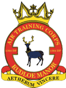 1304 (Rudloe Manor) Detached Flight Air Training Corps (ATC)/Air Cadets Squadron badge. Click to go to the 1304 (Rudloe Manor) Detached Flight Air Training Corps (ATC)/Air Cadets homepage