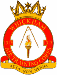 1313 (Whickham) Air Training Corps (ATC)/Air Cadets Squadron badge. Click to go to the 1313 (Whickham) Air Training Corps (ATC)/Air Cadets homepage