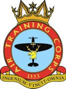 1333 (Grangemouth) Air Training Corps (ATC)/Air Cadets Squadron badge. Click to go to the 1333 (Grangemouth) Air Training Corps (ATC)/Air Cadets homepage