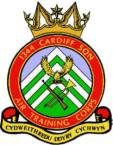 1344 (Cardiff) Air Training Corps (ATC)/Air Cadets Squadron badge. Click to go to the 1344 (Cardiff) Air Training Corps (ATC)/Air Cadets homepage
