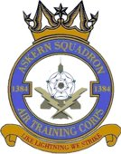 1384 (Askern) Air Training Corps (ATC)/Air Cadets Squadron badge. Click to go to the 1384 (Askern) Air Training Corps (ATC)/Air Cadets homepage