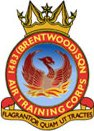 1483 (Brentwood) Air Training Corps (ATC)/Air Cadets Squadron badge. Click to go to the 1483 (Brentwood) Air Training Corps (ATC)/Air Cadets homepage
