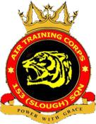 153 (Slough) Air Training Corps (ATC)/Air Cadets Squadron badge. Click to go to the 153 (Slough) Air Training Corps (ATC)/Air Cadets homepage