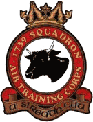 1739 (2nd Midlothian) Air Training Corps (ATC)/Air Cadets Squadron badge. Click to go to the 1739 (2nd Midlothian) Air Training Corps (ATC)/Air Cadets homepage