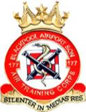 177 (Blackpool Airport) Air Training Corps (ATC)/Air Cadets Squadron badge. Click to go to the 177 (Blackpool Airport) Air Training Corps (ATC)/Air Cadets homepage