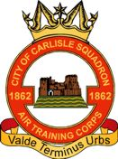 1862 (City of Carlisle) Air Training Corps (ATC)/Air Cadets Squadron badge. Click to go to the 1862 (City of Carlisle) Air Training Corps (ATC)/Air Cadets homepage