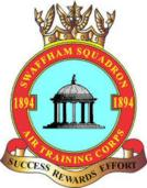 1894 (Swaffham) Air Training Corps (ATC)/Air Cadets Squadron badge. Click to go to the 1894 (Swaffham) Air Training Corps (ATC)/Air Cadets homepage
