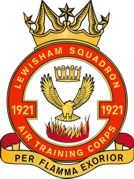 1921 (Lewisham) Air Training Corps (ATC)/Air Cadets Squadron badge. Click to go to the 1921 (Lewisham) Air Training Corps (ATC)/Air Cadets homepage
