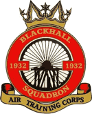 1932 (Blackhall) Air Training Corps (ATC)/Air Cadets Squadron badge. Click to go to the 1932 (Blackhall) Air Training Corps (ATC)/Air Cadets homepage