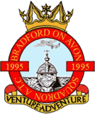 1995 (Bradford-on-Avon) Air Training Corps (ATC)/Air Cadets Squadron badge. Click to go to the 1995 (Bradford-on-Avon) Air Training Corps (ATC)/Air Cadets homepage