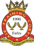 1996 (Earley) Air Training Corps (ATC)/Air Cadets Squadron badge. Click to go to the 1996 (Earley) Air Training Corps (ATC)/Air Cadets homepage