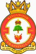 2002 (Kingswood) Air Training Corps (ATC)/Air Cadets Squadron badge. Click to go to the 2002 (Kingswood) Air Training Corps (ATC)/Air Cadets homepage