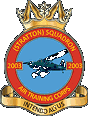 2003 (Stratton) Air Training Corps (ATC)/Air Cadets Squadron badge. Click to go to the 2003 (Stratton) Air Training Corps (ATC)/Air Cadets homepage