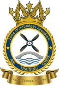 2504 (Fordbridge) Air Training Corps (ATC)/Air Cadets Squadron badge. Click to go to the 2504 (Fordbridge) Air Training Corps (ATC)/Air Cadets homepage