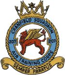 207 (Cranfield) Air Training Corps (ATC)/Air Cadets Squadron badge. Click to go to the 207 (Cranfield) Air Training Corps (ATC)/Air Cadets homepage