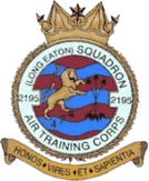 2195 (Long Eaton) Air Training Corps (ATC)/Air Cadets Squadron badge. Click to go to the 2195 (Long Eaton) Air Training Corps (ATC)/Air Cadets homepage