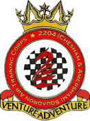 2204 (Chesham & Amersham) Air Training Corps (ATC)/Air Cadets Squadron badge. Click to go to the 2204 (Chesham & Amersham) Air Training Corps (ATC)/Air Cadets homepage