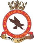 2211 (Bracknell) Air Training Corps (ATC)/Air Cadets Squadron badge. Click to go to the 2211 (Bracknell) Air Training Corps (ATC)/Air Cadets homepage