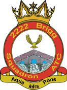 2222 (Brigg) Air Training Corps (ATC)/Air Cadets Squadron badge. Click to go to the 2222 (Brigg) Air Training Corps (ATC)/Air Cadets homepage