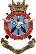 2230 (Sittingbourne) Air Training Corps (ATC)/Air Cadets Squadron badge. Click to go to the 2230 (Sittingbourne) Air Training Corps (ATC)/Air Cadets homepage