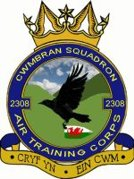 2308 (Cwmbran) Air Training Corps (ATC)/Air Cadets Squadron badge. Click to go to the 2308 (Cwmbran) Air Training Corps (ATC)/Air Cadets homepage