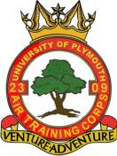 2309 (University of Plymouth) Air Training Corps (ATC)/Air Cadets Squadron badge. Click to go to the 2309 (University of Plymouth) Air Training Corps (ATC)/Air Cadets homepage