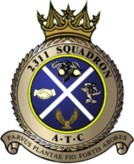 2311 (Glenrothes) Air Training Corps (ATC)/Air Cadets Squadron badge. Click to go to the 2311 (Glenrothes) Air Training Corps (ATC)/Air Cadets homepage