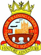 233 (Pershore) Air Training Corps (ATC)/Air Cadets Squadron badge. Click to go to the 233 (Pershore) Air Training Corps (ATC)/Air Cadets homepage