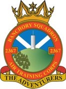 2367 (Banchory) Air Training Corps (ATC)/Air Cadets Squadron badge. Click to go to the 2367 (Banchory) Air Training Corps (ATC)/Air Cadets homepage