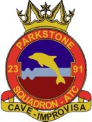 2391 (Parkstone) Air Training Corps (ATC)/Air Cadets Squadron badge. Click to go to the 2391 (Parkstone) Air Training Corps (ATC)/Air Cadets homepage