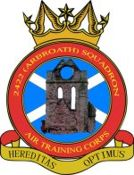 2422 (Arbroath) Air Training Corps (ATC)/Air Cadets Squadron badge. Click to go to the 2422 (Arbroath) Air Training Corps (ATC)/Air Cadets homepage