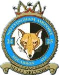 2425 (Nottingham Airport) Air Training Corps (ATC)/Air Cadets Squadron badge. Click to go to the 2425 (Nottingham Airport) Air Training Corps (ATC)/Air Cadets homepage