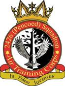 2426 (Pencoed & District) Air Training Corps (ATC)/Air Cadets Squadron badge. Click to go to the 2426 (Pencoed & District) Air Training Corps (ATC)/Air Cadets homepage