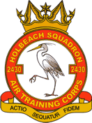 2430 (Holbeach) Air Training Corps (ATC)/Air Cadets Squadron badge. Click to go to the 2430 (Holbeach) Air Training Corps (ATC)/Air Cadets homepage